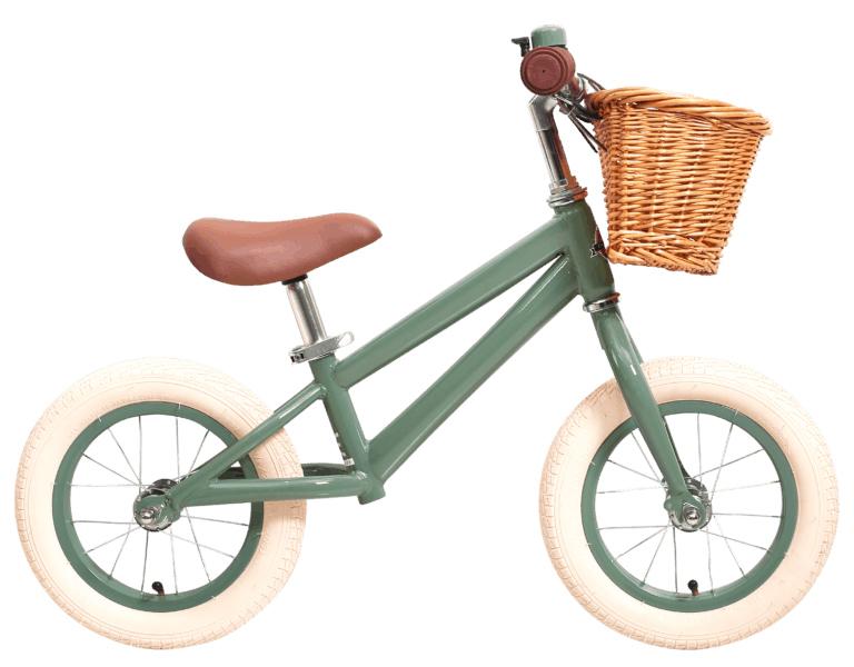 Balanscykel Stålhästen Rulla Grön