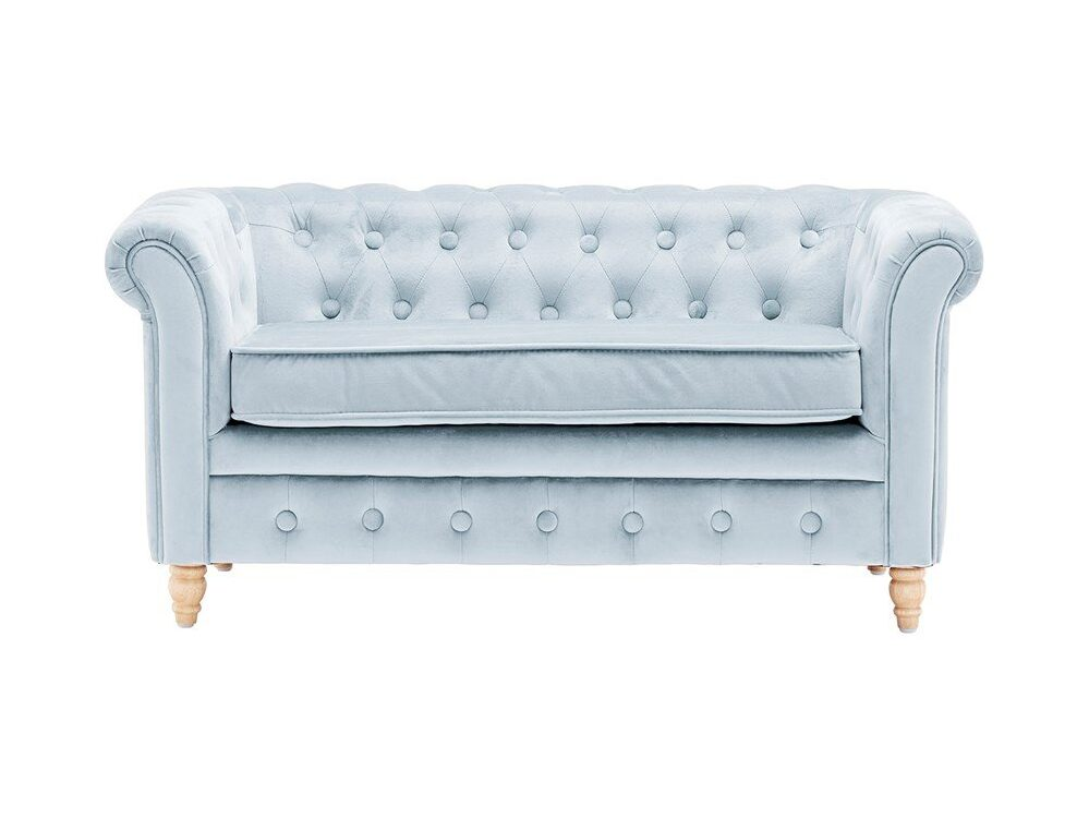 Soffa Kids Concept Chesterfield, Light blue